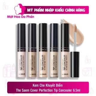Che Khuyết Điểm The Saem Cover Perfection Tip Concealer 6.5gr thumbnail