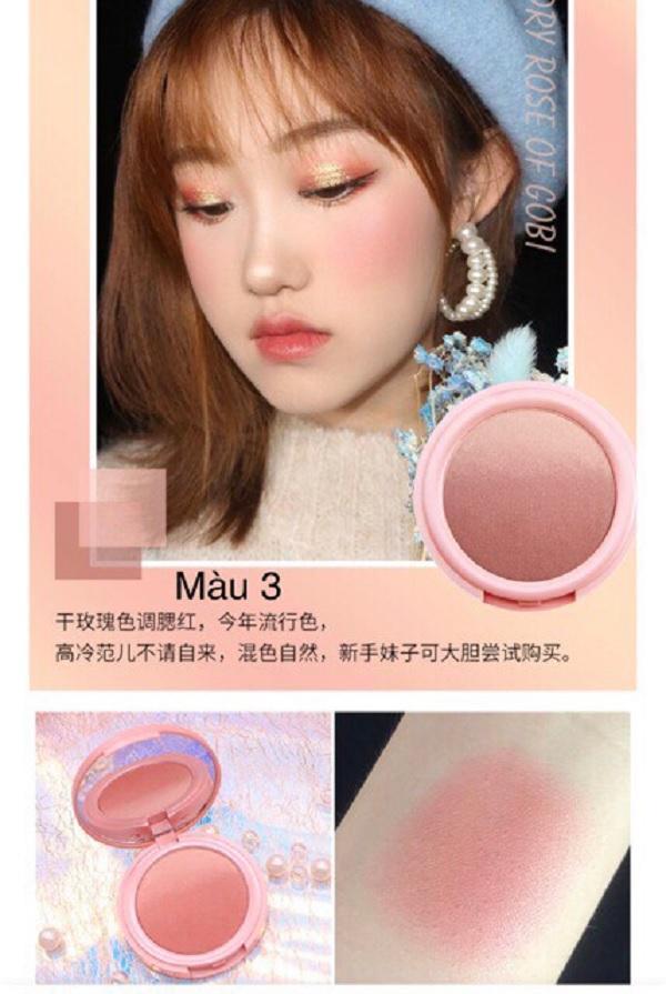 Phấn má hồng ombre Novo Makeup Lolipop Blush quá xinh nhé - hàng nội địa Trung tốt nhất