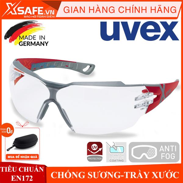Kính bảo hộ UVEX PHEOS CX2 9198258 kính chống bụi, chống hơi nước, trầy xước vượt trội, ngăn chặn tia UV, mắt kính đi xe máy, lao động, phòng dịch chính hãng [XSAFE] [XTOOLS]