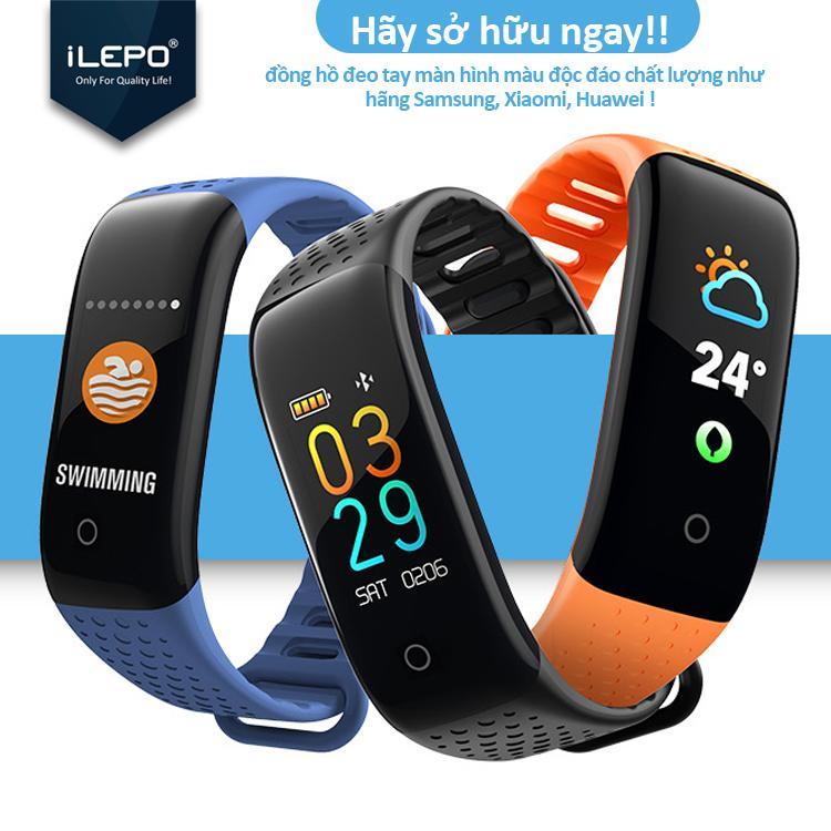 Giá Đồng hồ thông minh theo dõi sức khỏe vận động, màn hình cảm kết nối bluetooth cảm ứng, nghe nhận cuộc gọi tin nhắn bảo hành 12 tháng iPELO Z6