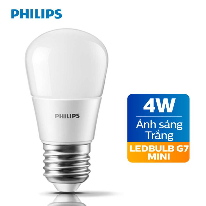 Bóng đèn Philips LED 4W 6500K E27 P45 - Ánh sáng trắng