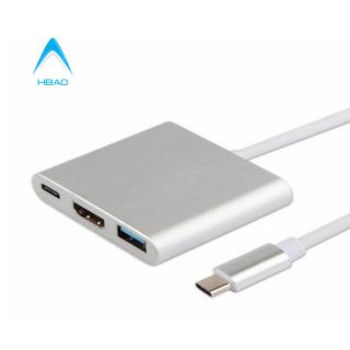 Hub Cáp Chuyển Tín Hiệu Usb 3.1 Type-C Sang HDMI 1080P, Type-C Và Usb 3.0 thumbnail