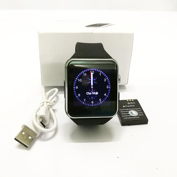 Đồng Hồ Thông Minh Smartwatch Cao Cấp X6 Màn Hình Cong- Đồng Hồ X6 Nghe Gọi Chụp Ảnh Giá Rẻ- Đồng Hồ Thông Minh Có Wifi X6 Độ Nhạy Cao- Chống Chói- Thép Không Gỉ- Dây Đeo Chắc Chắn- Công Nghệ Đẳng Cấp- Thời Trang- Năng Động