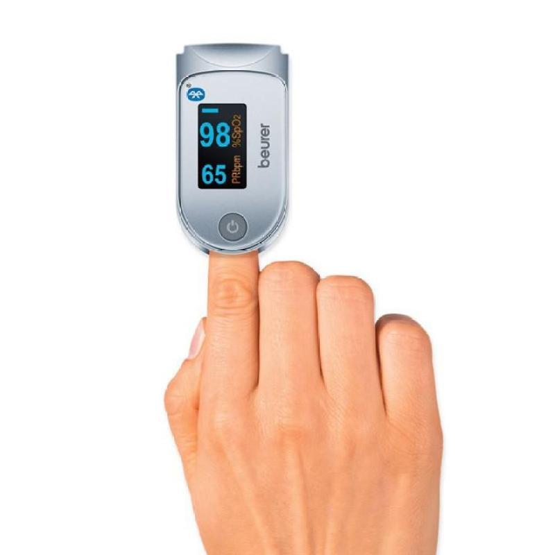 Máy đo nồng độ oxi trong máu SPO2 và nhịp tim BEURER-PO60 bán chạy