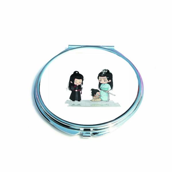 Gương hai mặt in hình KIMETSU NO YAIBA MA ĐẠO TỔ SƯ CHIBI HATSUNE MIKU NARUTO ONE PIECE SAKURA anime chibi giá rẻ