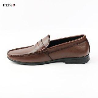 HT NEO giày lười, giày mọi nam thanh lịch- lịch lãm cùng với Màu nâu d36-na và Màu đen d36- de thumbnail
