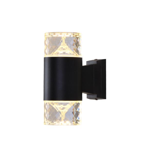 Bảng giá Đèn led pha lê 2 đầu trang trí cột tường hành lang cầu thang trong nhà ngoài trời chống nước 3001/3002
