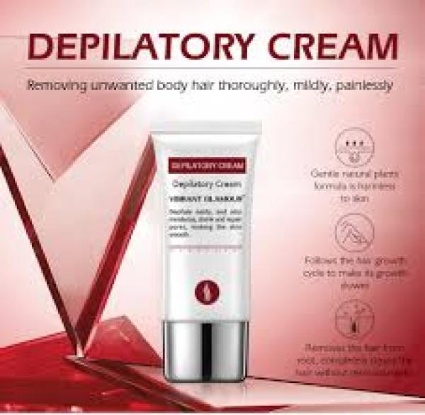 Vibrant Glamour Kem Tẩy Lông Tái Tạo Da Tự Nhiên an Toàn Depilatory Cream Hair Removal nhập khẩu
