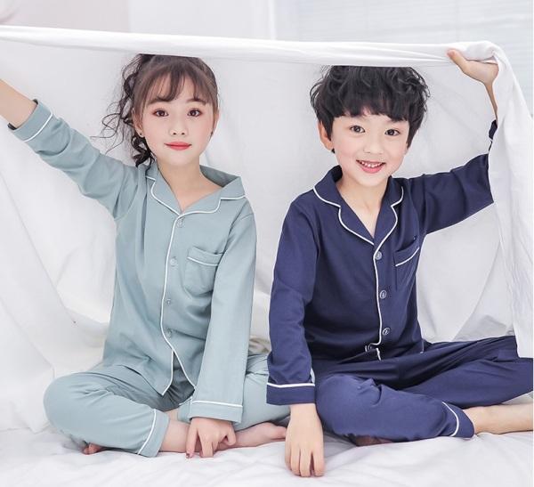Giá bán đồ bộ mặc nhà cho bé vải phi lụa mờ ( không bóng) 193