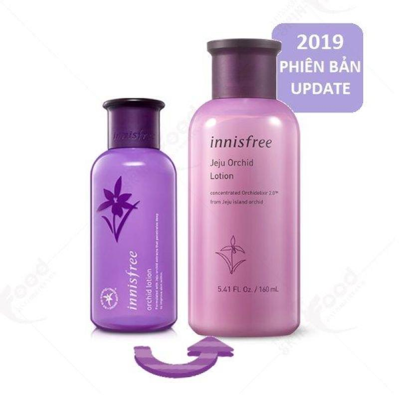 [New 2019] Sữa dưỡng ngăn ngừa lão hóa và sáng da từ hoa lan Innisfree Jeju Orchid Lotion 160ml
