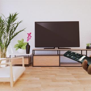 Remote tivi TCL thông minh,điều khiển giọng nói DONATHINH DT13 hàng chính hãng thumbnail