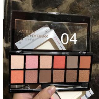 Set Phấn Mắt 12 Màu GEOMETRY Eye Shadow Palette (Hàng Nội Địa) thumbnail