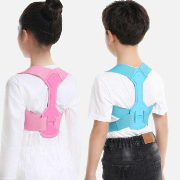 Đai chống gù lưng trẻ em có trục hỗ trợ lưng tôm cao cấp