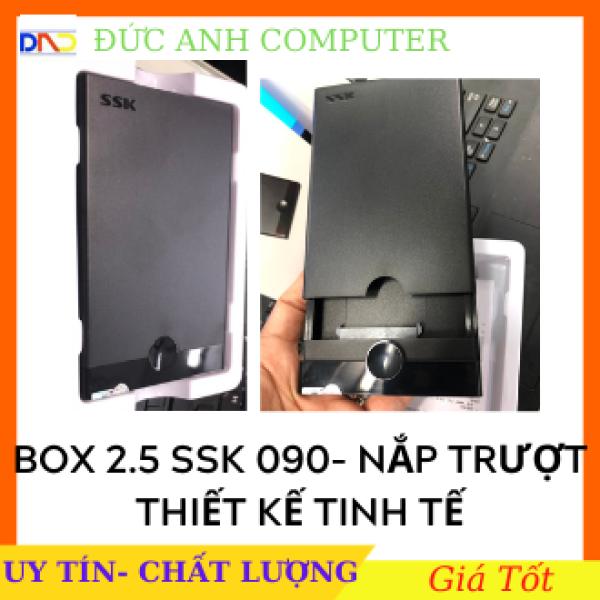 Bảng giá Hộp đựng ổ cứng HDD Box ssk 2.5 Sata She-090- Hỗ Trợ Lên Đến 5Gb - Chính Hãng 100% Full Box Phong Vũ