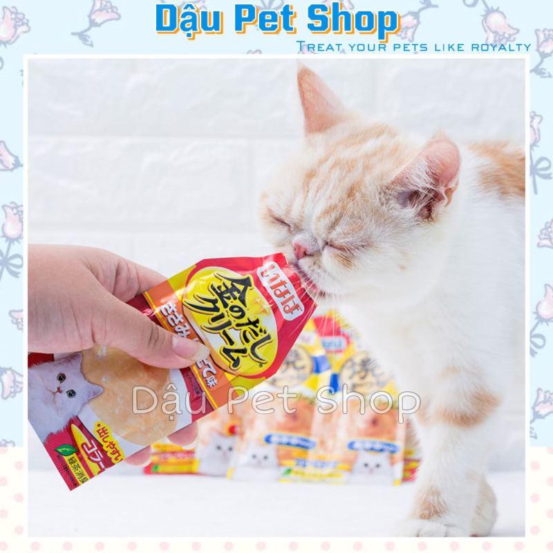 Súp Ciao Inaba Cream Cho Mèo Gói Lẻ 30G