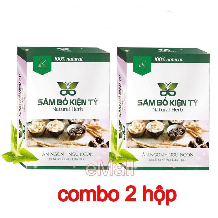 Combo 2 hộp Sâm Bổ Kiện Tỳ giúp người gầy tăng cân, ăn ngon ngủ ngon