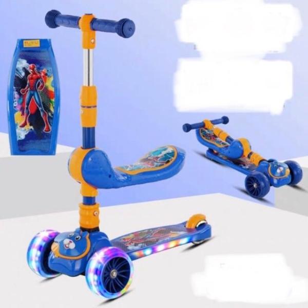 Giá bán XE TRƯỢT CHO BÉ + CHÒI CHÂN COMBO 2IN1 - LOẠI CAO CẤP SIÊU TRẮC CHẮN - e  scooter - xe trượt  scooter - đồ chơi  trẻ em