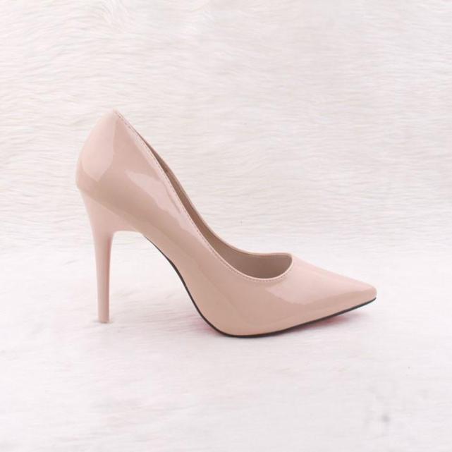 Giày búp bê cao gót bóng 9p VNXK giá rẻ