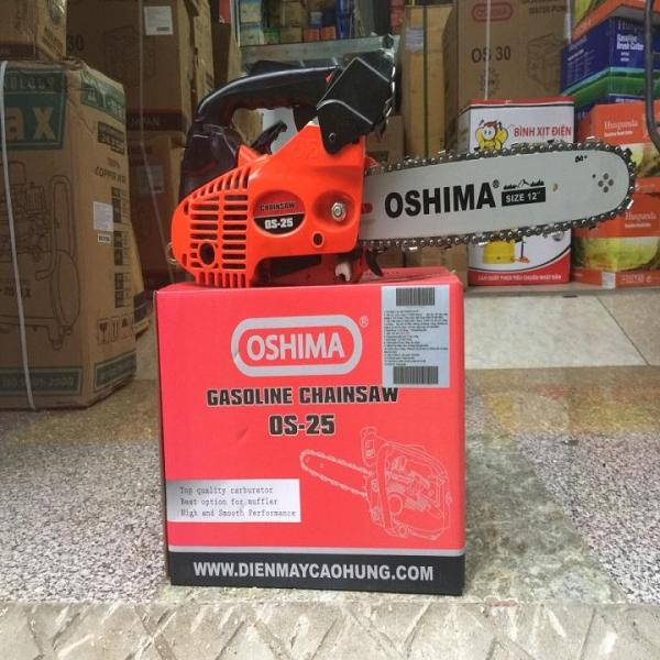 Máy cưa xích chạy xăng Oshima OS25