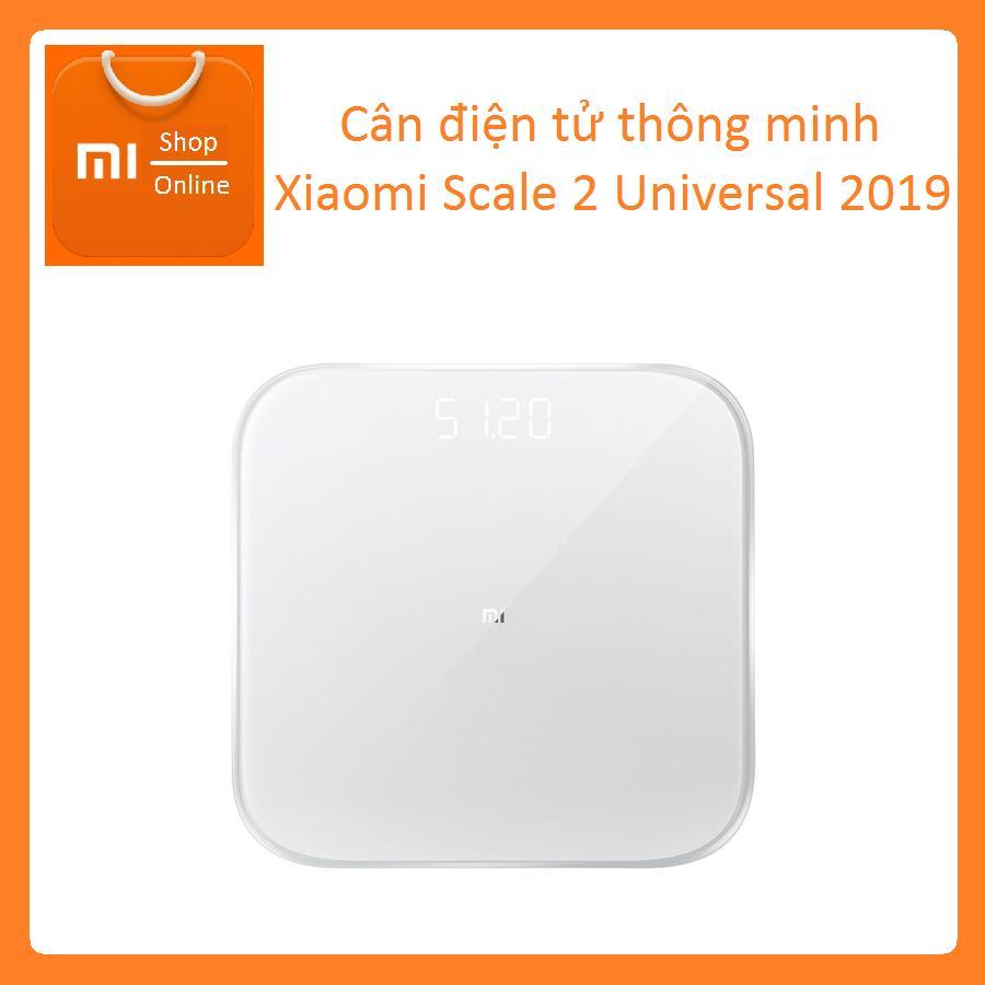 Cân điện tử thông minh Xiaomi Scale 2 Universal 2019 cao cấp