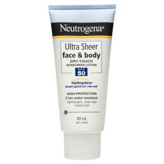 Kem Chống Nắng Neutrogena Ultra Sheer Dry-Touch Sunscreen Lotion SPF 50+ 85ml (Mặt & Cơ Thể) thumbnail