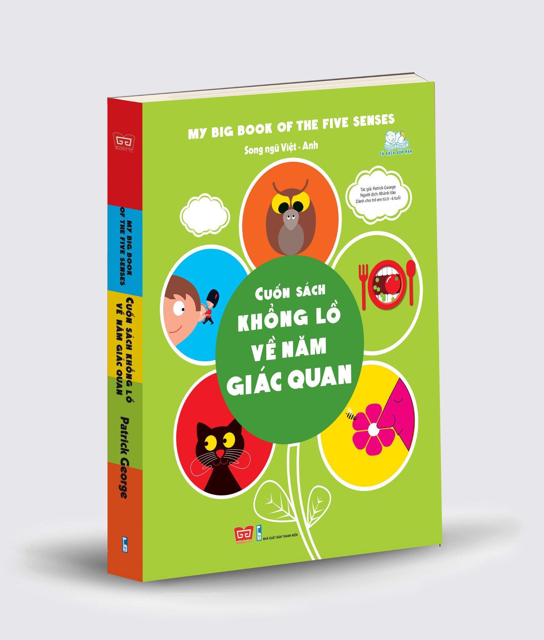 Mua Sách - Cuốn Sách Khổng Lồ Về Năm Giác Quan (My Big Book Of The Five Senses)