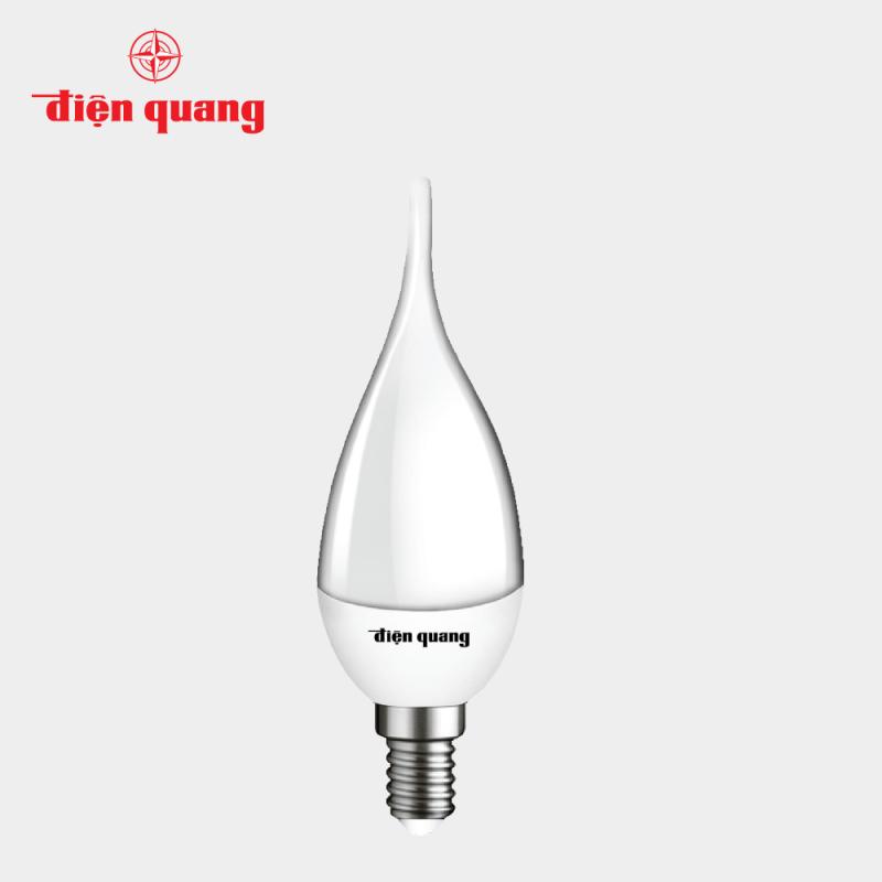 Đèn LED Nến Điện Quang ĐQ LEDCD01 02727 (2W warmwhite chụp mờ)
