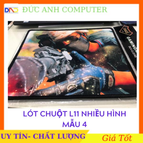 Bảng giá Miếng lót chuột Logilily L11 - Loại Mousepad Speed (Đen)- Được Chọn Hình Phong Vũ