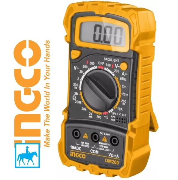 [HCM]TOTAL Đồng Hồ Vạn Năng CATII 600V Digital Multimeter TMT46001 DM200