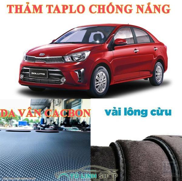 Thảm Taplo Kia Soluto  bằng lông Cừu 3 lớp hoặc Da Cacbon - CarSun Store phụ kiện chuyên dành cho xe ô tô