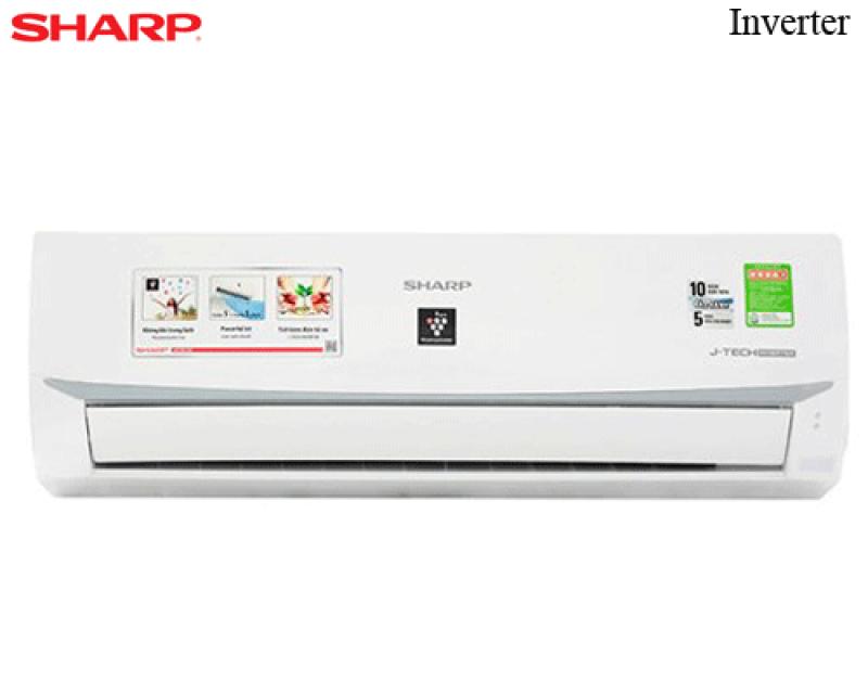 Máy lạnh - Điều hòa Sharp 1 chiều Inverter 12000BTU  AH-X12XEW - Hàng chính hãng - Bảo hành 12 tháng