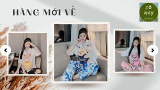 FREE SHIP] Bộ Đồ Pijama Lụa - Bộ Lụa Satin Tay Cánh Dơi [HÀNG ĐẸP CHUẨN] thumbnail