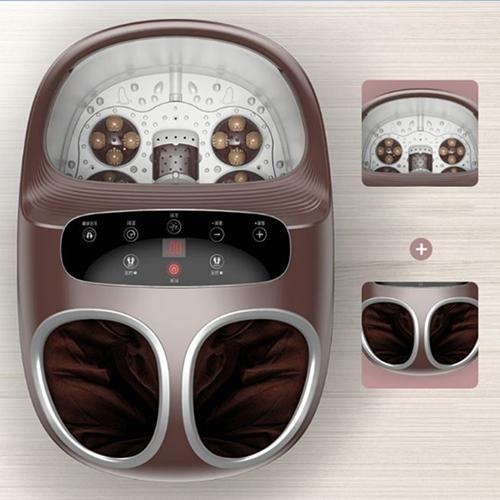 Máy ngâm và massage chân, dùng cho 2 người cùng lúc, có bánh xe di chuyên, tự làm nóng nước, chế độ sưởi, điều chỉnh nhiệt độ cao cấp