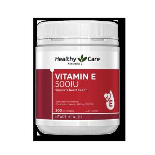 Healthy Care Thực phẩm chức năng bổ sung Vitamin E 500IU 200 viên thumbnail