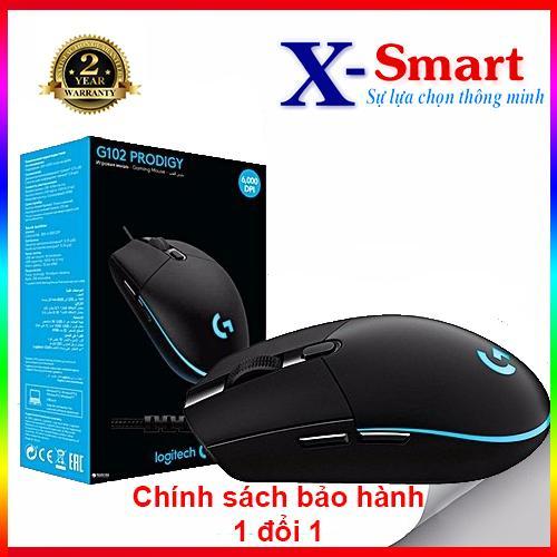 Giá Cực Tốt Khi Mua Chuột Gaming Logitech G102 Prodigy RGB LED (Black)