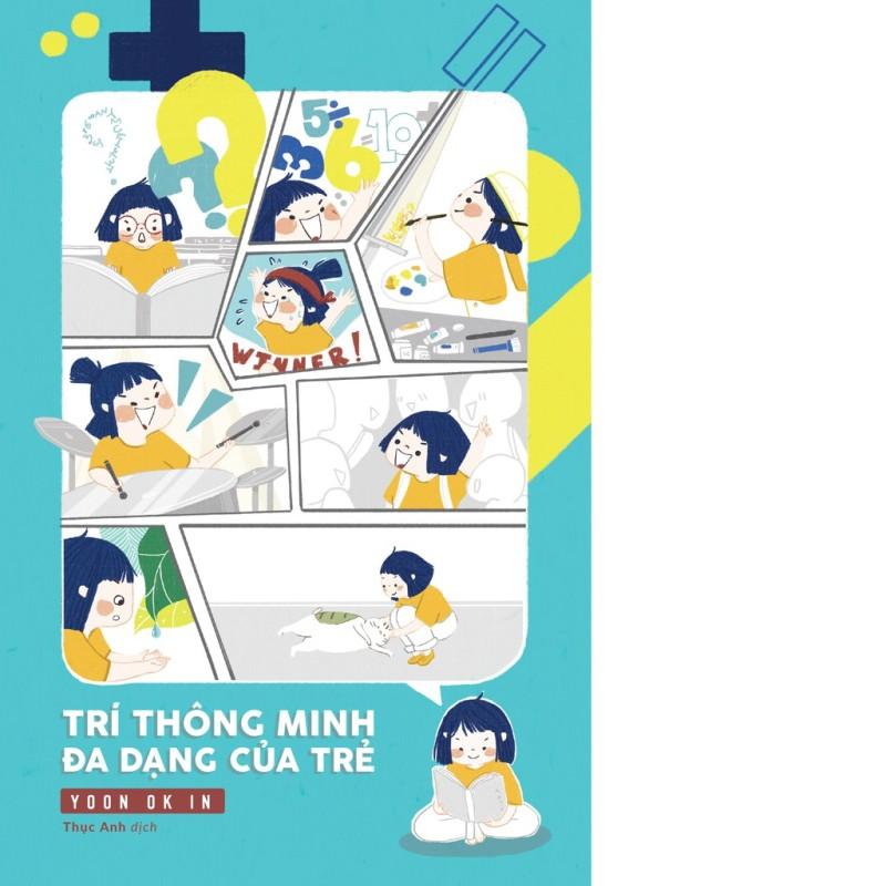 Sách Trí thông minh đa dạng của trẻ + Tặng truyện tranh cho bé - Mhbooks