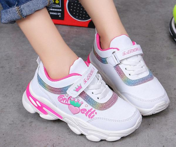 Giá bán Giày thể thao  phong cách hàn quốc bé gái từ 3  - 15 tuổi  - TT010
