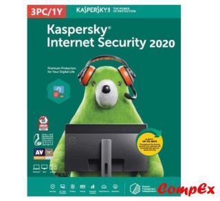 KASPERSKY INTERNET SECURITY CHO 3PCs thumbnail