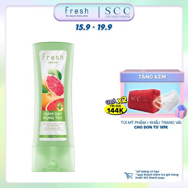 Dầu xả Fresh Giảm gãy rụng chiết xuất Bưởi hồng ngọc 170g giá rẻ