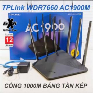 thiết bị siêu kích sóng wifi,Thiết Bị Phát Wifi Tp-Link Wdr7660 Tốc Độ Mạng Cực Nhanh 1900gbps, Bộ Định Tuyến Wifi 5g Tốc Độ Cao Độ Phủ Sóng Cực Mạnh Và Ổn Định - BẢO HÀNH 12 THÁNG BỞI F88 PLUS thumbnail