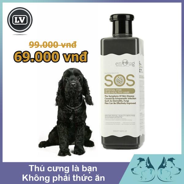 Sữa Sắm SOS Dành Cho Chó Lông Màu Đen  530ml - Phụ Kiện Thú Cưng Long Vũ