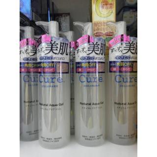 [Sale] Combo 2 chai Nước tẩy trang Cure Natural Aqua Gel 250g ( Mẫu mới - Made in Japan - Nhật Bản ) thumbnail