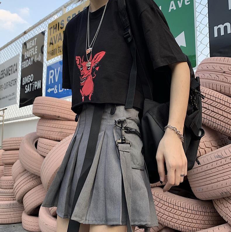 Mùa hè năm 2020 Nữ Váy Kèm Thắt Lưng Cao Cấp Ôm Váy Feminina Vestidos Nút Cao Cấp Xếp Ly Mini nữ quần legging Bán giỏi nhấthkjj