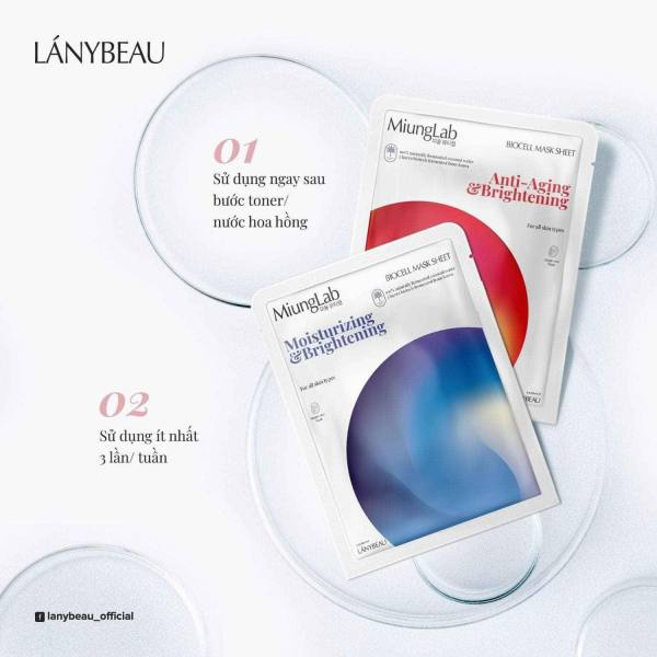 Miung Lab Mask mặt nạ dưỡng da (hộp 7 miếng)