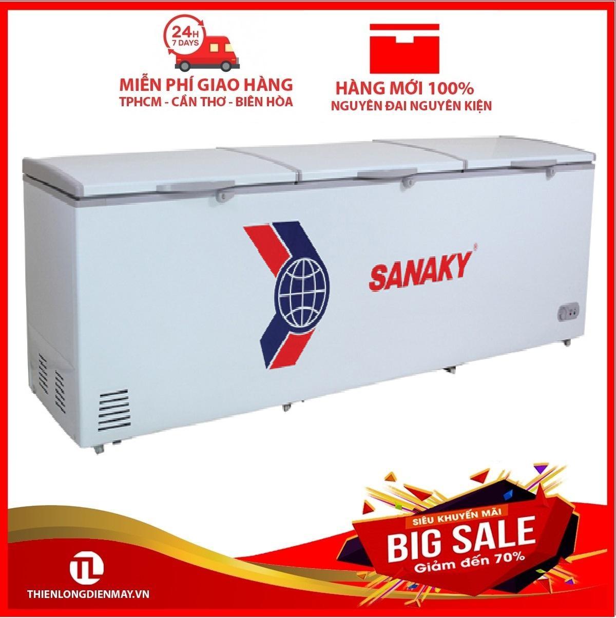 Bảng giá Tủ Đông Sanaky VH-1368HY2 3 Cánh 1 Ngăn (1300L) - Hàng Chính Hãng Điện máy Pico
