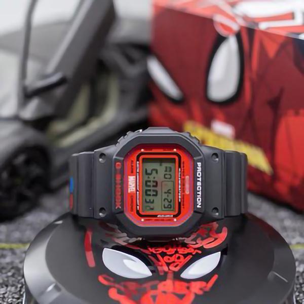 Nơi bán Đồng Hồ Casio G-Shock Spider Men GA-110 - Đồng hồ G Shock thể thao nan phiên bản giới hạn - Đồng hồ Casio