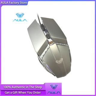 Chuột Chơi Game AULA Factory Store S31 Pro, Chuột Có Đèn LED Và Hiệu Ứng Đèn Nền Nhấp Nháy Cho Máy Tính Bàn, Máy Tính Xách Tay thumbnail