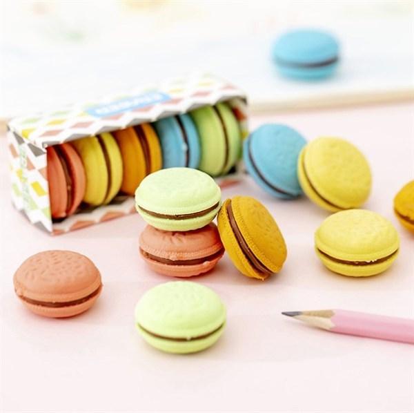 Mua Bộ 5 Gôm Tẩy Bút Chì Bánh Macarons