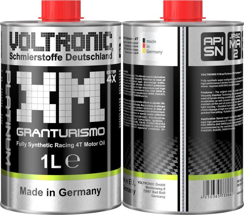 (Giá dùng thử) Nhớt biến thiên cao cấp Voltronic XM Platinum Granturismo (xm platinum) Nhật Bản
