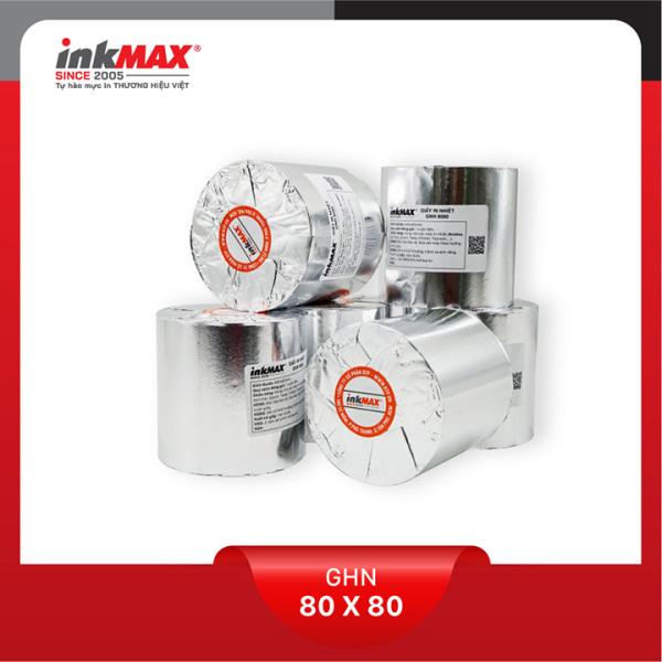 Mua ( Combo 50 cuộn ) Giấy in nhiệt K80x80 - Giấy in BILL - Giấy in hóa đơn - Hàng chính hãng inkMAX